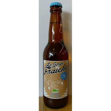Bière Blanche Bio de La Gorge Fraiche